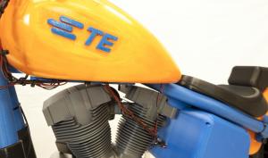 Двигатель, правда, фабричной сборки, а не напечатан на 3D-принтере