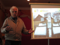В Харьковской области изобретатель учит соотечественников создавать солнечные коллекторы