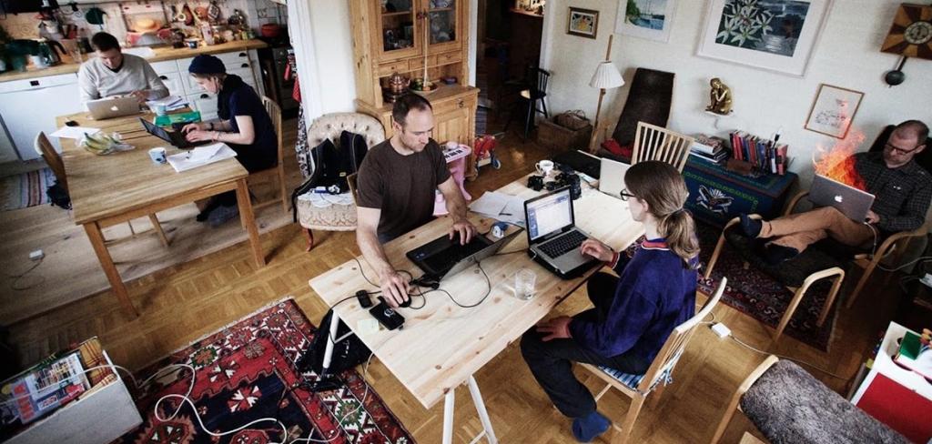 Що таке «hoffice» і чому у друзів вдома працювати вигідніше, аніж у коворкінгу