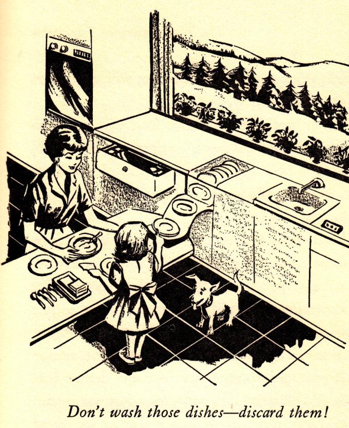 Посудомоечная машина по версии 60-х