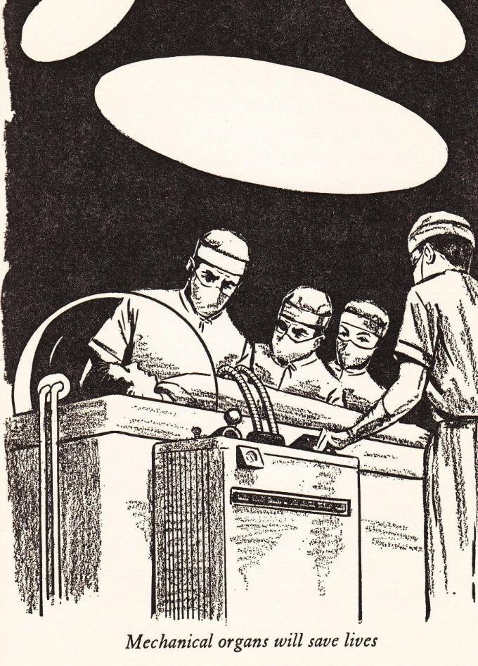 А так в 60-х ХХ века представляли себе биокибернетику