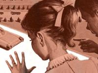 Будущее по меркам 60-х годов ХХ века — машины без водителя, механические органы, летающий транспорт и многое другое