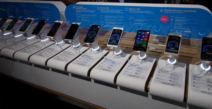 В новом фирменом магазине и центре обслуживания абонентов смартфоны уже настроены на 3G-связь