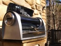Гриль GoSun позволяет жарить мясо от энергии солнца даже ночью