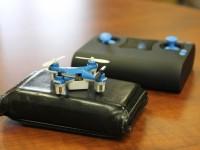 Видео: Как выглядит самый маленький квадрокоптер в мире