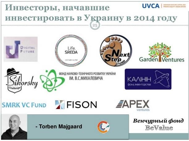 10 новых инвесторов, начавших инвестировать в Украину в 2014 году