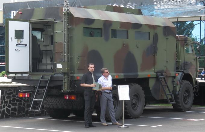 Броньований штабний автомобіль на базі КамАЗ