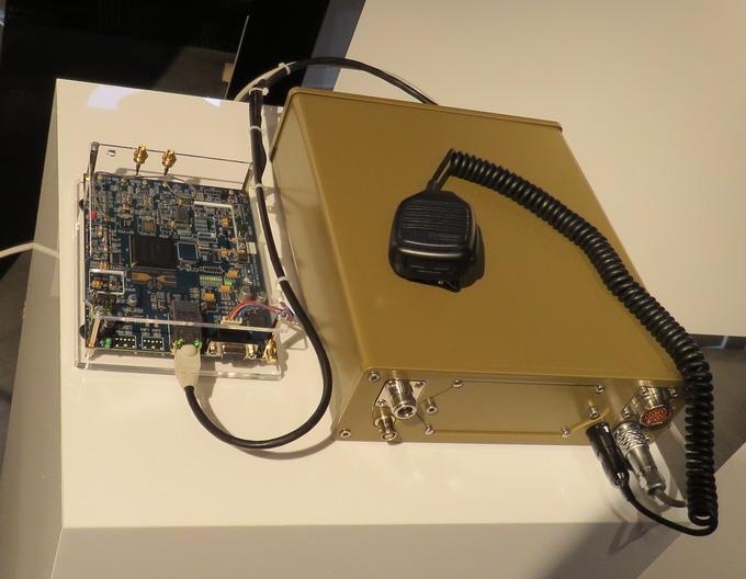 Короткохвильова радіостанція дальнього зв'язку праюцє на базі новітньої технології Software Defined Radio (SDR)