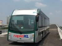 В Малайзии появится первый в мире скоростной маршрут электроавтобусов