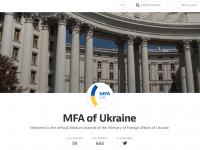 Українські дипломати завели англомовний блог на платформі Medium