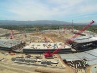 Відео: Як виглядає будівництво нового офісу Apple