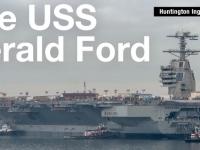 Відео: В США з'явиться унікальний авіаносець за $13 млрд