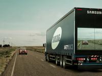 Samsung испытывает видеосистему для «прозрачных грузовиков»