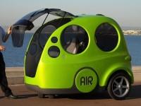 Бывший инженер Formula-1 разработал авто, едущее на сжатом воздухе вместо бензина