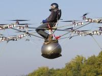Голландец создал «летающее такси» на базе мультикоптера