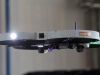 Британцы приспособили квадрокоптеры для инспектирования фюзеляжа самолёта