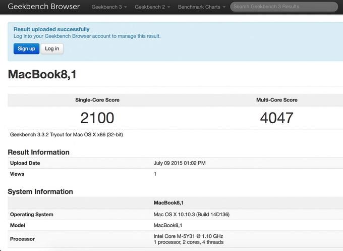 Оценка быстродействия системы с помощю утилиты GeekBench