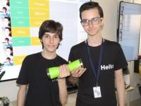 Как двое десятиклассников из Украины придумали революционный гаджет для фитнеса