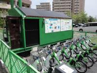 В Японії запустили муніципальні станції прокату електровелосипедів з підзарядкою від сонця