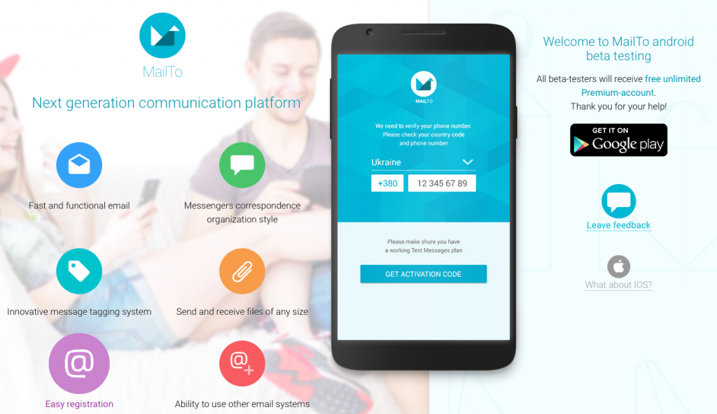Ukrainian MailTo app tries to take on Google Inbox or WhatsApp or both
