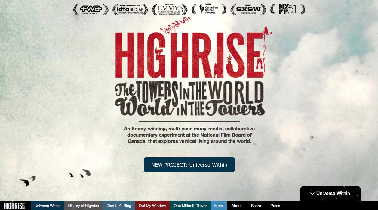 10 интерактивных документальных историй