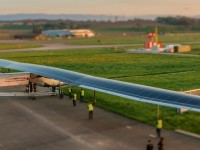 Самолёт на солнечных батареях побил мировой рекорд