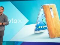 Motorola показала новые Moto — смартфоны G, X Play и X Style