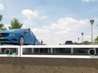 В Голландии строят «зелёные» дороги из переработанных пластиковых бутылок