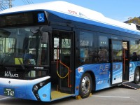 Toyota начинает испытания водородного общественного транспорта на улицах Токио