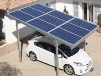 Украинцы выпустили станцию для подзарядки электромобилей дома от энергии солнца