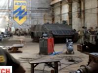 В полку «Азов» создали первый украинский танк с тяжёлой бронёй для АТО