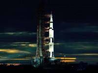 Старт самой мощной ракеты в мире показали в 3D