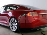 Tesla Motors продемонстрировала необычную зарядную станцию для электромобилей
