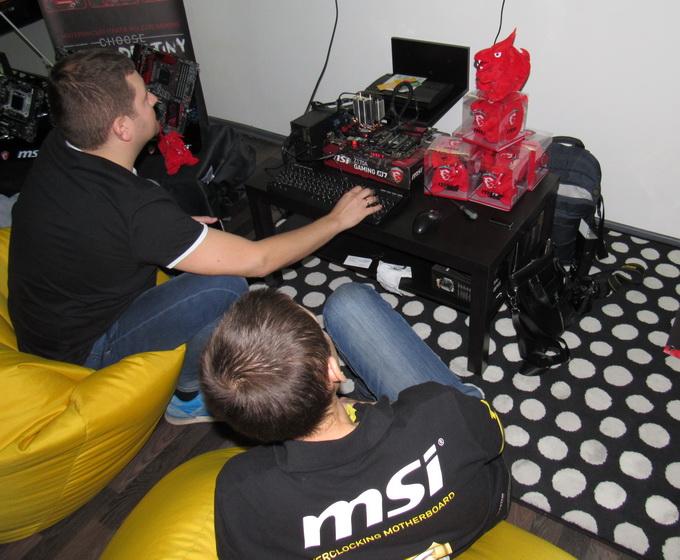 Команда MSI оцінює перші результати розгону Intel Core i7-6700K