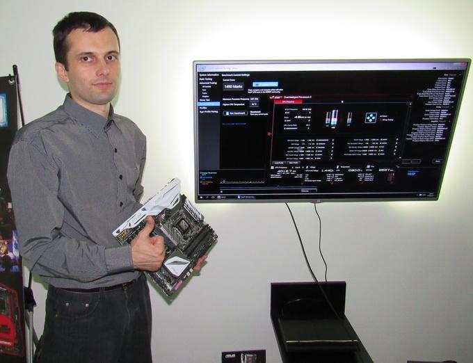 Олег Голубович задоволений отриманим результатом розгону