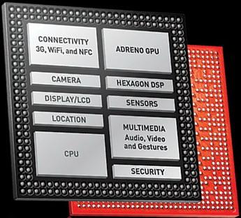Смартфон построен на базе SoC-платформы Snapdragon 200 MSM8610