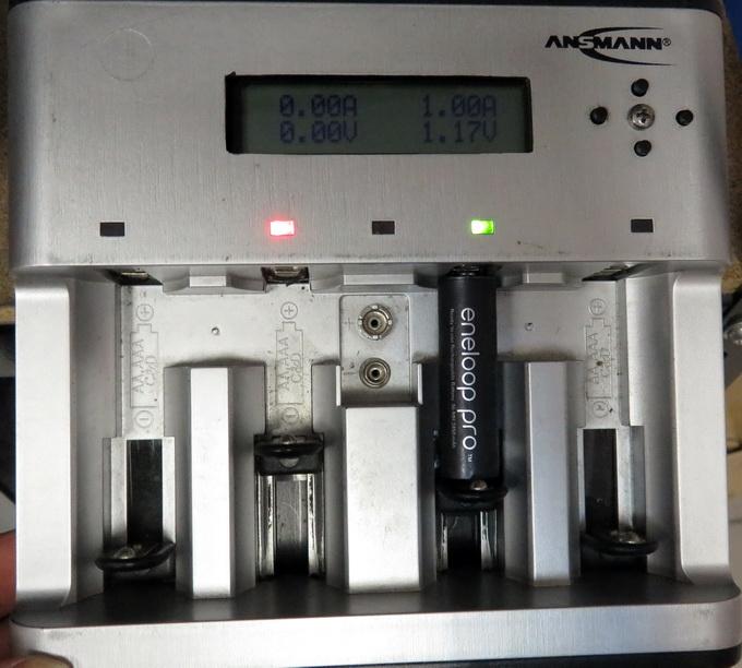 Напряжение под нагрузкой в замороженном аккумуляторе снизилось до 1,17 В