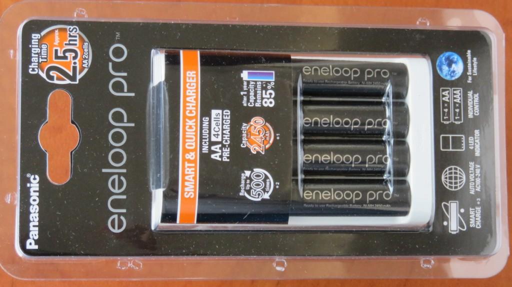 Линейка Panasonic Eneloop Pro относится к категории аккумуляторов LSD NiMH