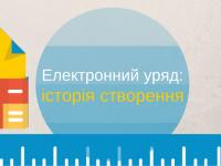 Електронне урядування в Україні — історія створення