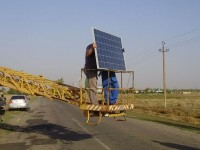 В Запорожской области внедрили уличное освещение на основе солнечных батарей