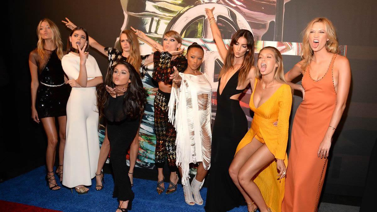 фото с красной дорожки MTV VMA 2015 - кто все эти люди?
