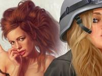 Украинский иллюстратор вышел на Kickstarter с pin-up календарём в поддержку армии