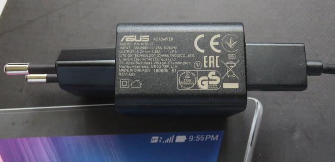 C целью ускоренной подзарядки производитель поставляет зарядное устройство, генерирующее ток силой 1,35А