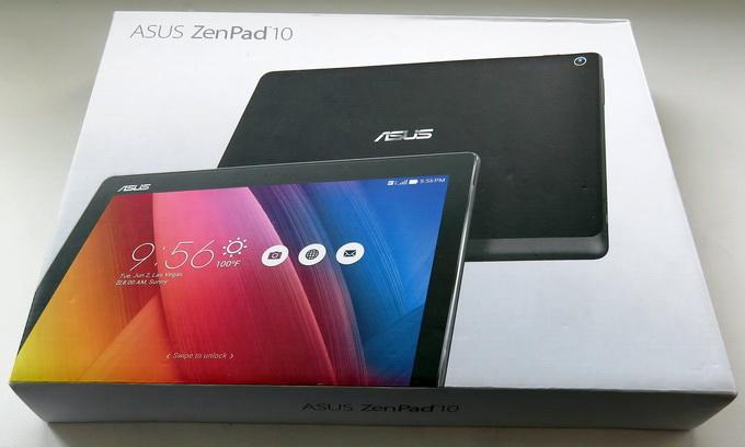 Упаковка ASUS ZenPad 10 (Z300CG)