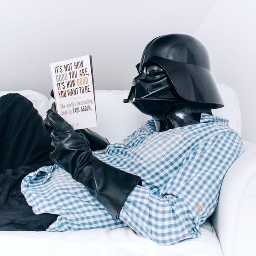 Нет ничего лучше, чем начать день с хорошей книги