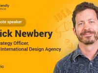 Патрік Ньюбері виступить на User Friendly Conference для дизайнерів в Києві