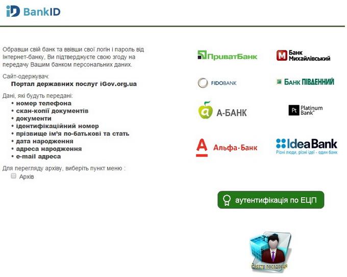 Система онлайн-верификации гражданина BankID позволяет идентифицировать вашу личность с помощью данных банковского эккаунта