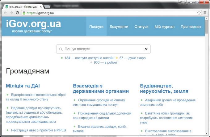В последние месяцы процесс перевода услуг в электронную форму пошел очень активно: сегодня на сайте доступно для оформления в онлайн-режиме 184 услуги
