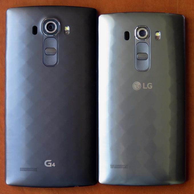 В моделях G4 и G4s кнопки блокировки и регулировки громкости находятся на задней панели, а не сбоку, как в подавляющем большинстве других мобильных гаджетов