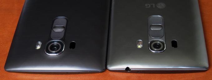 На верхнем торце в модели G4 присутствует только ИК-порт. В смартфоне G4s здесь расположен стандартный аудиоразъем 3,5 мм, ИК-порт отсутствует